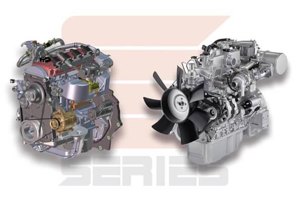 clark forklift engine