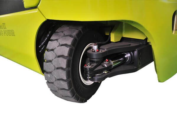 clark electric forklift steering